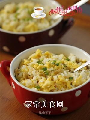 鸡蛋榨菜炒饭的做法