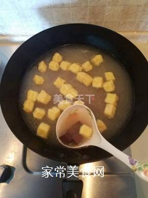 鸭血粉丝汤的做法步骤:4