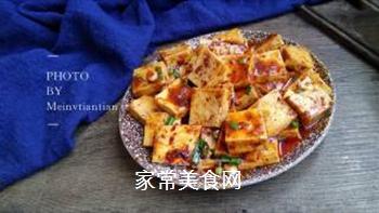 麻婆豆腐的做法步骤:11