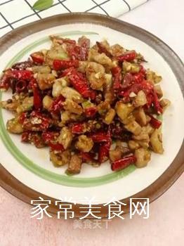 川椒香麻肉丁的做法步骤:12