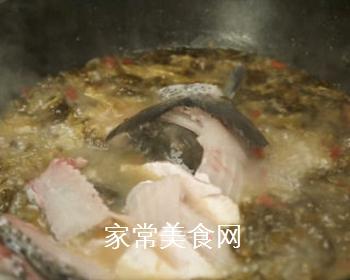 酸菜鱼的做法步骤:12
