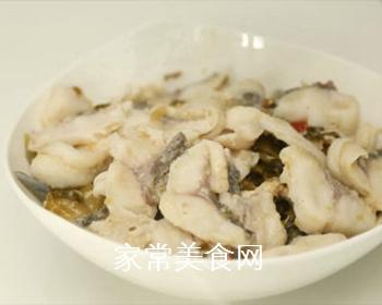 酸菜鱼的做法步骤:15