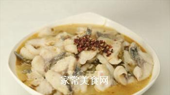 酸菜鱼的做法步骤:16