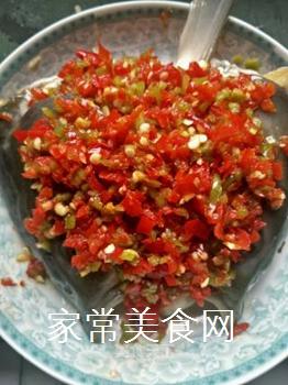 泡椒鱼头的做法步骤:5
