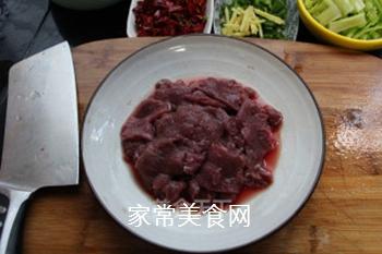 水煮肉片的做法步骤:2