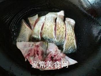 双椒豆瓣边鱼块的做法步骤:7