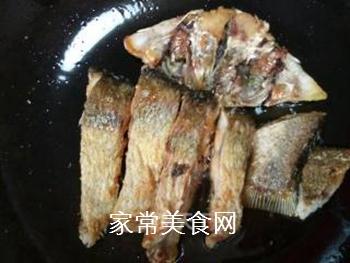 双椒豆瓣边鱼块的做法步骤:8