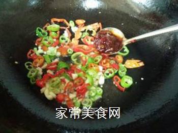 双椒豆瓣边鱼块的做法步骤:10
