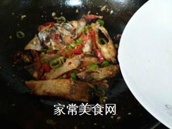双椒豆瓣边鱼块的做法步骤:12