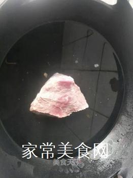 草包牛肉的做法步骤:2