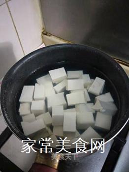 麻婆豆腐的做法步骤:1