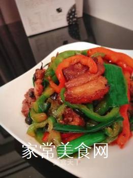 回锅肉的做法步骤:8