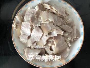 回锅肉的做法步骤:2