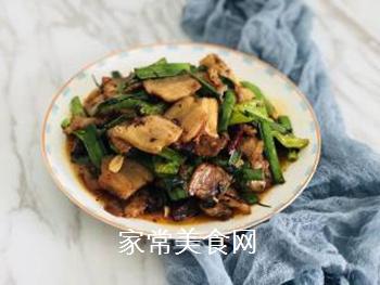 回锅肉的做法步骤:9