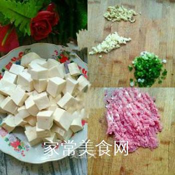 家常麻婆豆腐的做法步骤:1
