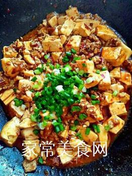 家常麻婆豆腐的做法步骤:6