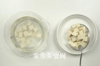 麻婆豆腐的做法步骤:7