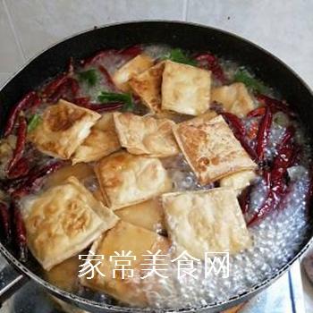麻辣水煮豆腐的做法步骤:11