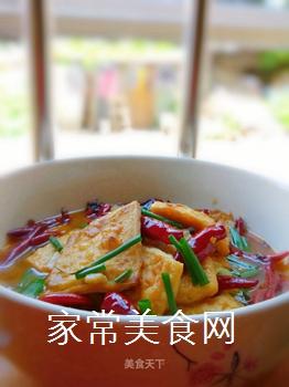 麻辣水煮豆腐的做法