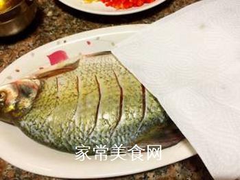 川味干烧臊子鱼的做法步骤:5