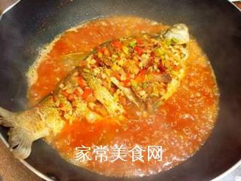 川味干烧臊子鱼的做法步骤:13