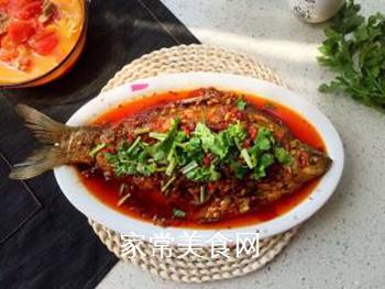 川味干烧臊子鱼的做法步骤:15