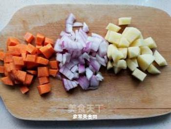 日式咖喱鱼丸乌冬面的做法步骤:4