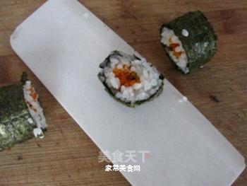 鱼籽寿司的做法步骤:6