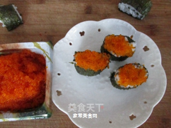 鱼籽寿司的做法步骤:7