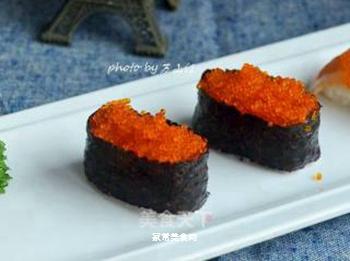 鱼籽寿司的做法步骤:8