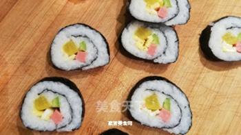 日式简易寿司卷的做法步骤:9