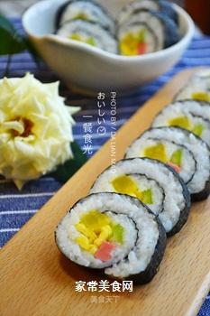 日式简易寿司卷的做法
