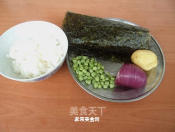 海苔饭卷的做法步骤:1