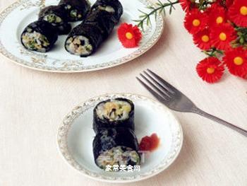 海苔饭卷的做法步骤:12