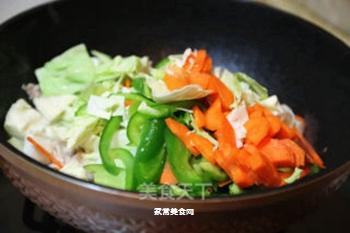 日式炒面的做法步骤:3