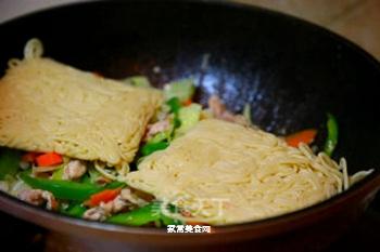 日式炒面的做法步骤:5
