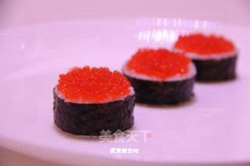 鱼子军舰寿司的做法步骤:3