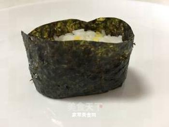 鱼子军舰寿司的做法步骤:6