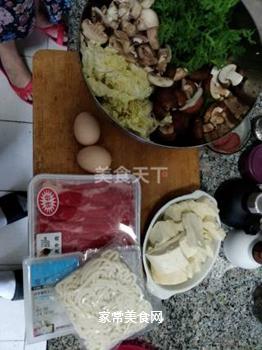 日式寿喜锅的做法步骤:1