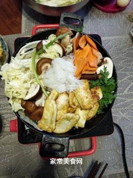 日式寿喜锅的做法步骤:6
