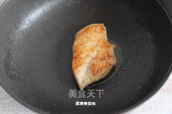 照烧鸡排饭的做法步骤:6