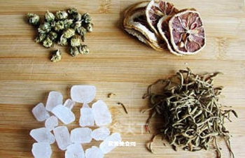 健康饮品---金银双花茶的做法步骤:1