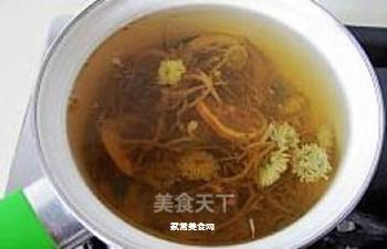 健康饮品---金银双花茶的做法步骤:3