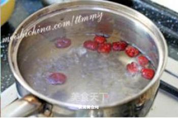双花柠檬红枣茶的做法步骤:2