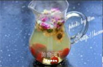 双花柠檬红枣茶的做法步骤:4