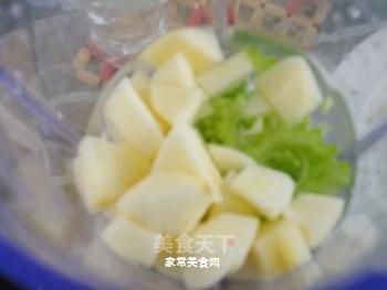 夏日消暑去火饮品---苦瓜苹果饮的做法步骤:6