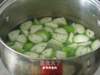 丝瓜粥的做法步骤:5