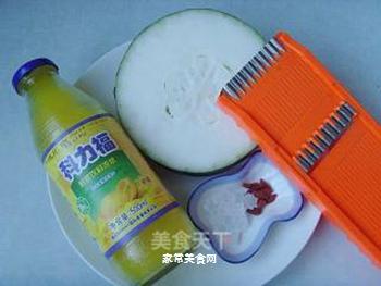 柠檬瓜条的做法步骤:1