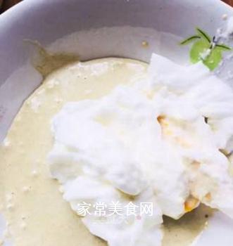 小米鸡蛋糕的做法步骤:3