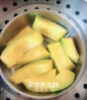 小米南瓜粥的做法步骤:2